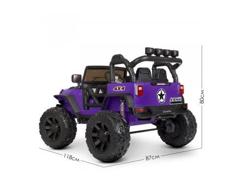 Детский электромобиль Джип Bambi M 4296EBLR-9(24V) фиолетовый