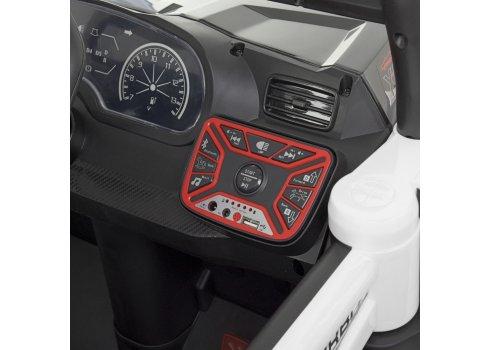 Детская машина на аккумуляторе BUGGY (БАГГИ) M 4453EBLR-1 белый