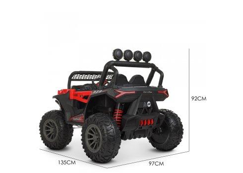 Детская машина на аккумуляторе BUGGY (БАГГИ) M 4453EBLR-3 красный