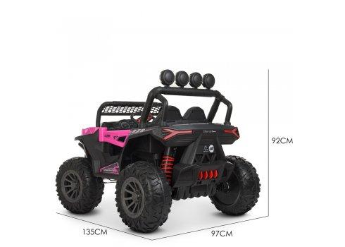Детская машина на аккумуляторе BUGGY (БАГГИ) M 4453EBLR-8 розовый