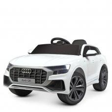 Детский электромобиль джип Audi Q8 Bambi Racer M 4528EBLR-1 белый