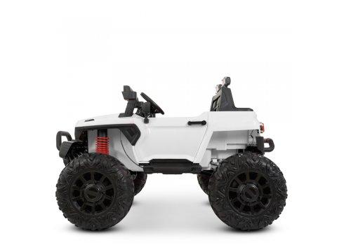 Детский электромобиль Джип двухместный Bambi Racer M 4531EBLR-1 белый