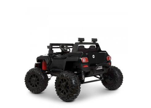 Детский электромобиль Джип двухместный Bambi Racer M 4531EBLR-2 черный