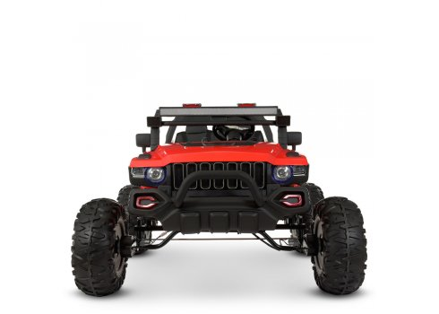 Детский электромобиль Джип двухместный Bambi Racer M 4531EBLR-3 красный