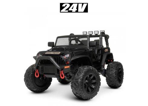Детский электромобиль Джип Bambi M 4553EBLR-2(24V) черный