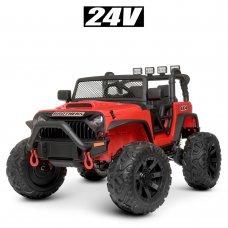 Детский электромобиль Джип Bambi M 4553EBLR-3(24V) красный