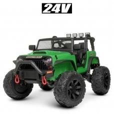 Детский электромобиль Джип Bambi M 4553EBLR-5(24V) зеленый