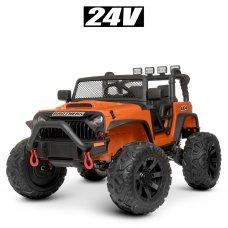 Детский электромобиль Джип Bambi M 4553EBLR-7(24V) оранжевый
