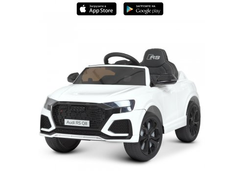 Детский электромобиль Джип Audi (Ауди) M 4569EBLR-1 белый