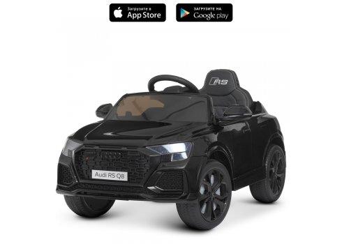 Детский электромобиль Джип Audi (Ауди) M 4569EBLR-2 черный