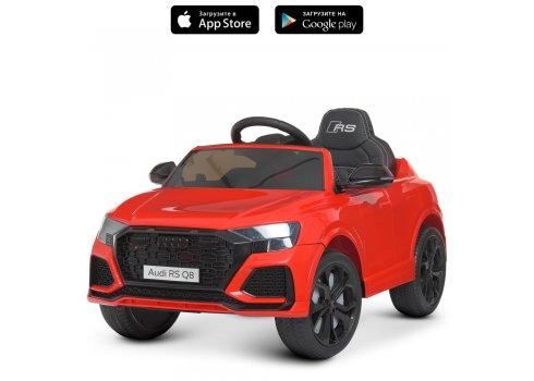Детский электромобиль Джип Audi (Ауди) M 4569EBLR-3 красный