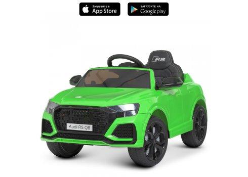 Детский электромобиль Джип Audi (Ауди) M 4569EBLR-5 зеленый