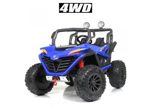 Детский электромобиль джип 4WD Bambi Racer M 4570EBLR-4 синий