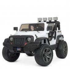 Детский электромобиль Джип в стиле Jeep Bambi M 4571EBLR-1 белый