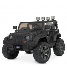 Детский электромобиль Джип в стиле Jeep Bambi M 4571EBLR-2 черный