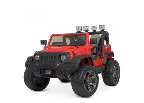 Детский электромобиль Джип в стиле Jeep Bambi M 4571EBLR-3 красный