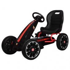 Детский педальный карт на EVA колесах для детей от3-х до 9-ти лет, Bambi M 3659E-2 черный