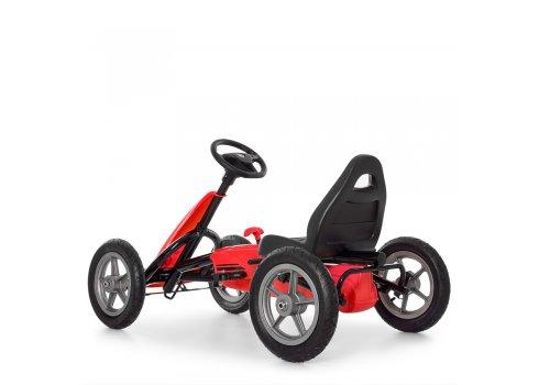 Детский педальный карт на надувных колесах Bambi M 4120-3 красный