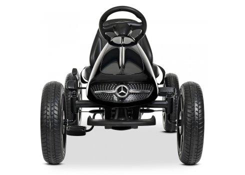 Детский лицензионный педальный веломобиль Mercedes для детей от 3 лет M 4271E-2 черный