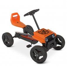 Детский педальный карт для детей от 2х лет Bambi kart M 4284E-7 оранжевый
