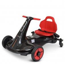 Дриф-карт электрический для детей от 3х лет Bambi Racer M 4558-2 черный