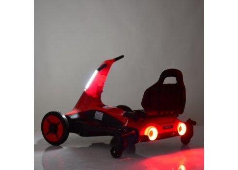 Дриф-карт электрический для детей от 3х лет Bambi Racer M 4558-1 белый