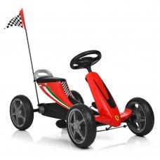 Детский педальный карт на EVA колесах, Bambi 8931E-3 красный