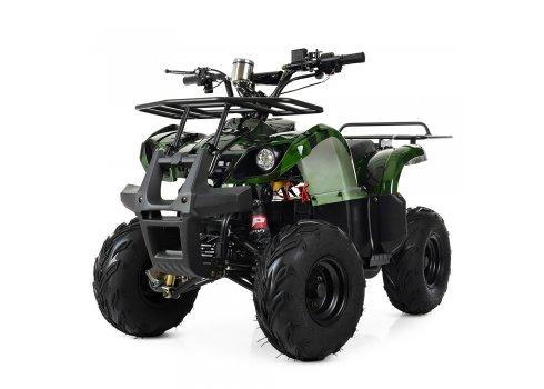 Квадроцикл электрический с мотором 1000W Profi HB-EATV1000D-10(MP3) зеленый