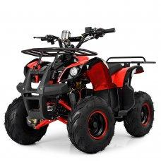Квадроцикл электрический с мотором 1000W Profi HB-EATV1000D-3(MP3) красный
