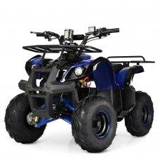 Квадроцикл электрический с мотором 1000W Profi HB-EATV1000D-4(MP3) синий