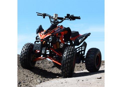 Квадроцикл для подростков (скорость до 30 км/час) PROFI HB-EATV1000Q2-7(MP3) оранжевый