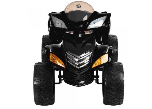 Детский квадроцикл на пульте управления BAMBI M 3101(MP3)EBLR-2 черный