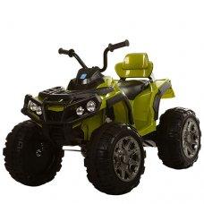 Детский квадроцикл на мягких EVA колесах, M 3156EBLR-10 темно-зеленый