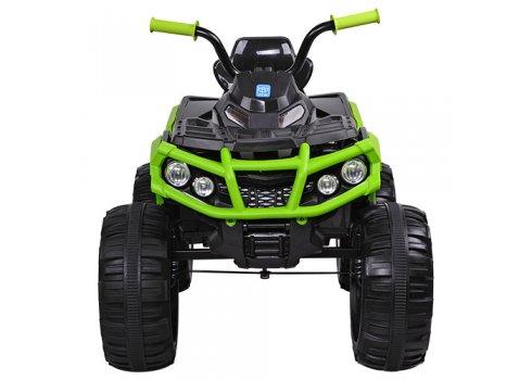 Детский квадроцикл на мягких EVA колесах, M 3156EBLR-2-5 зелено-черный