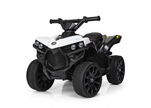 Детский квадроцикл на аккумуляторе Bambi M 3638EL-1 белый