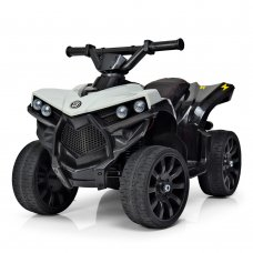 Детский квадроцикл на аккумуляторе Bambi M 3638EL-11 серый