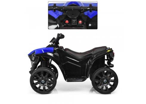 Детский квадроцикл на аккумуляторе Bambi M 3638EL-4 синий
