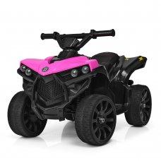 Детский квадроцикл на аккумуляторе Bambi M 3638EL-8 розовый