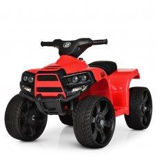 Детский электрический квадроцикл Bambi с кожаным сиденьем M 3893EL-3 красный