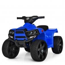 Детский электрический квадроцикл Bambi с кожаным сиденьем M 3893EL-4 синий