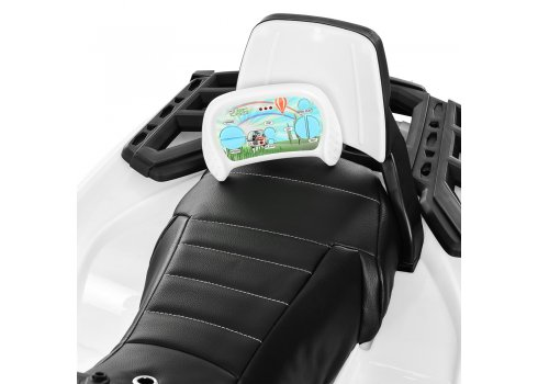 Детский полноприводный квадроцикл на аккумуляторе Bambi M 3999EBLR-1 белый