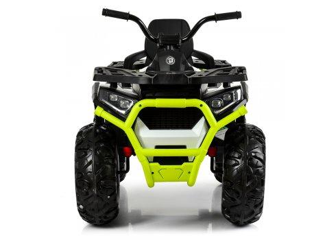 Детский квадроцикл на аккумуляторе с пультом РУ M 4081EBLR-1-5 бело-зеленый