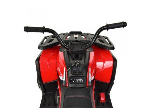 Детский квадроцикл на аккумуляторе с пультом РУ M 4081EBLR-2-3 черно-красный