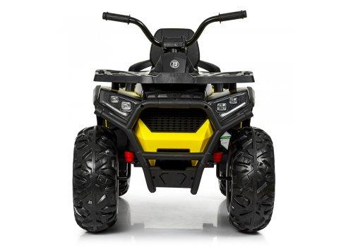 Детский квадроцикл на аккумуляторе с пультом РУ M 4081EBLR-2-6 черно-желтый