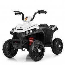 Детский электрический квадроцикл с мотором 40W Bambi M 4131E-1 белый