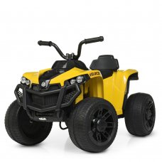 Детский квадроцикл на аккумуляторе с пультом РУ M 4229EBR-6 желтый