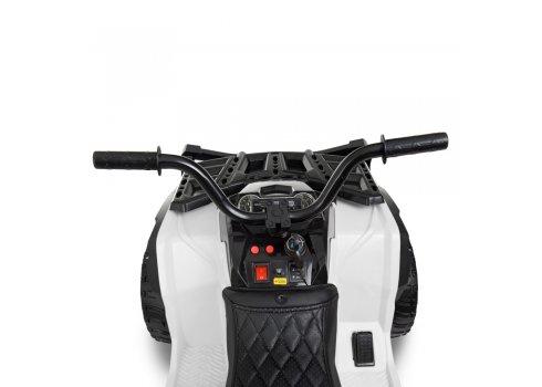 Детский квадроцикл на аккумуляторе с пультом РУ M 4266EBLR-1 белый