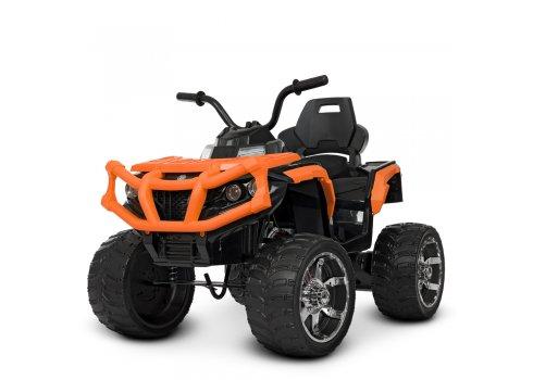 Детский квадроцикл на аккумуляторе с пультом РУ M 4266EBLR-7 оранжевый