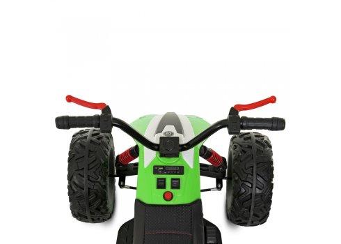Детский квадроцикл на аккумуляторе (для детей 3-8 лет) Bambi M 4457EL-5 зеленый