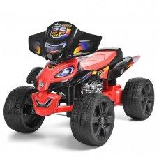 Детский электрический квадроцикл ZP5118E-2 черно-красный